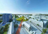 MVRDV planen Kasernenumbau in Mannheim / Neues H-O-M-E in Franklin - Architektur und Architekten - News / Meldungen / Nachrichten - BauNetz.de