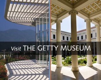 The Getty Museum, two of my most favorite places in SoCal!!