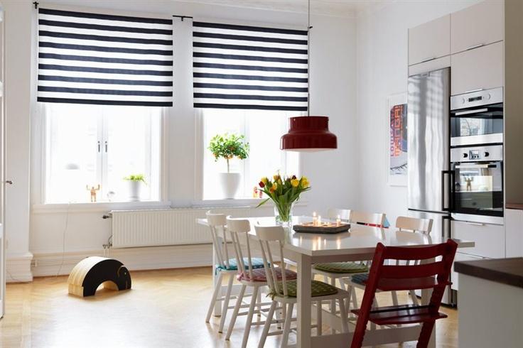 Black And White Blinds Home Decor Pinterest