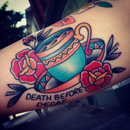 Tattoo coffee