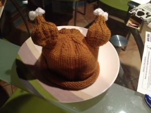 Baby Turkey Hat found on  http://engineeredcreations.wordpress.com/2013/11/12/baby-turkey-hat/  20131112-193559.jpg
