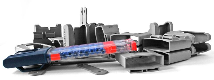 Custom 3DP Nerf gun accessories, for the discerning (read: obsessive) foam dart gun aficionado. Engineering and 3D printing serving a nice market.