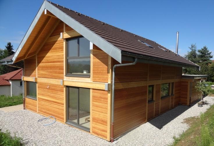 swimming pool exterior plans wood house en bois forward maison bois  ~ Maison Bois Isere