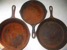 How To Restore Rusty Cast Iron Cookware #Prepper