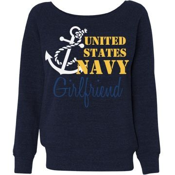 US Navy Girlfriend | Support your sailor with this US Navy girlfriend sweatshirt