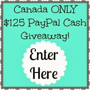 Just for you #Canada! $125 PayPal Cash Giveaway {CAN~4/11} | Homeschooling Mom 4 Two