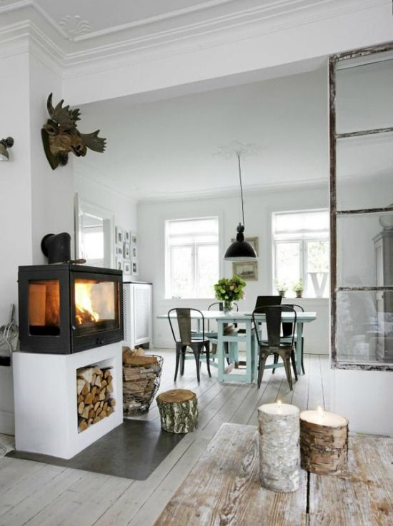 Pictures Of Wood Stoves In Kitchens