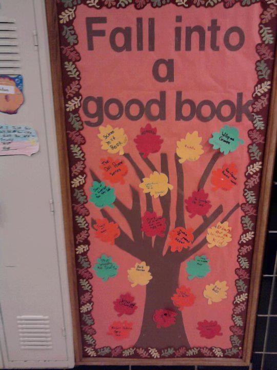 Decorating Ideas > Classroom Door Decorating Contest  Classroom Door  ~ 073412_Thanksgiving Library Decorations