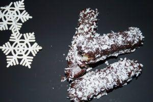 Bountystenger - perfekt konfekt til jul. Glutenfrie :)