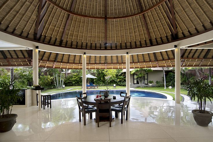 3 bedroom villa dining area #dusunvillas #bali