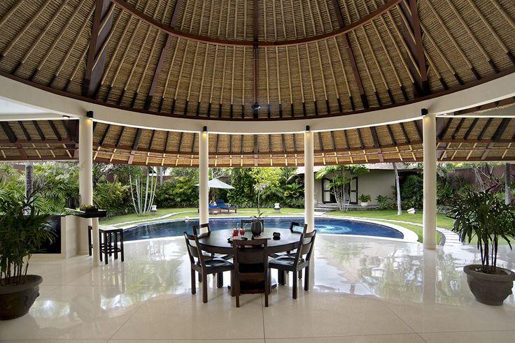 3 bedroom villa dining area #dusunvillas #bali