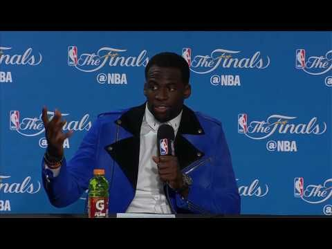 Draymond Green Postgame News Conference Part1   Warriors vs Cavs Finals Game 1   June 1, 2017 - YouTube