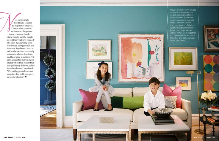 Wall color - Tiffany blue