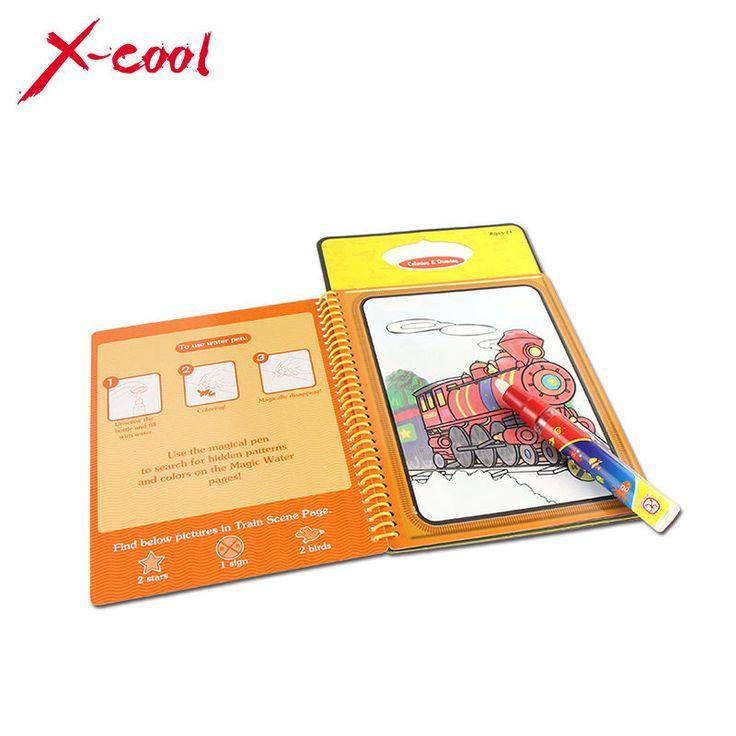 XC1391 Baru tiba Sihir Anak Air Menggambar Buku dengan 1 Sihir Pen/Intim Buku Mewarnai Lukisan Papan Air