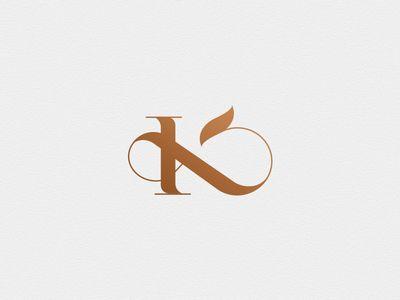 K x & monogram