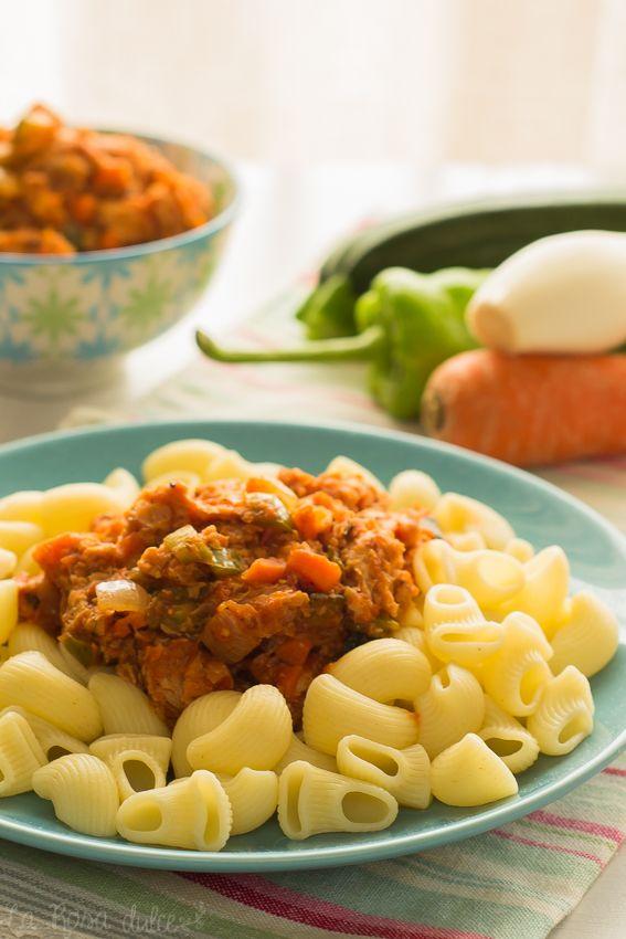 Cómo hacer boloñesa vegana para pasta #vegano #vegetariano #sinlacteos
