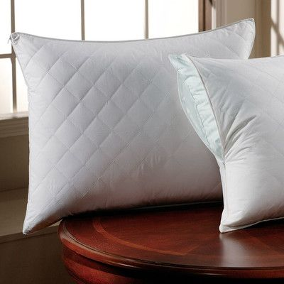 Alwyn Home 300 Thread Count Sateen Quilted Pillow Protector Size: Standard