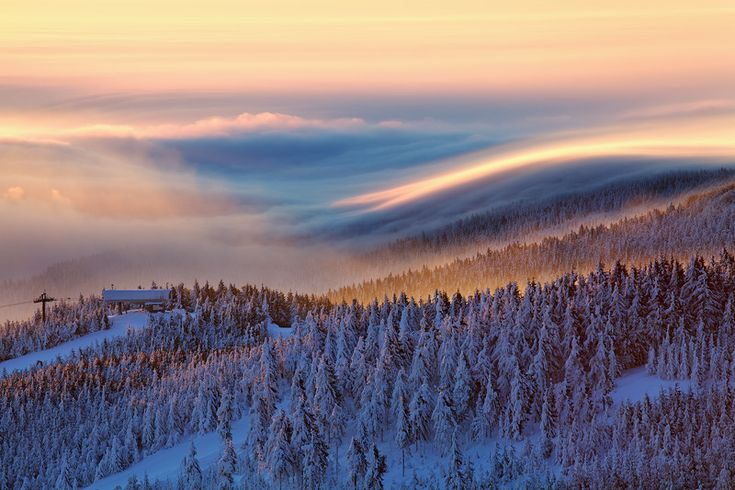 Winter in the Czech Republic The End Station by Martin Rak on 500px