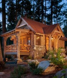 17 best images about playhousecamping cabinsheds on pinterest backyard cottage indoor air quality and small cabins - Log Cabin Design Ideas