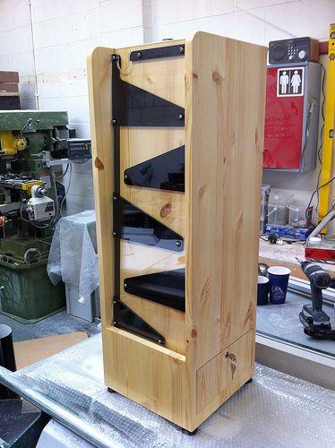 Wooden Interactive Donation Box