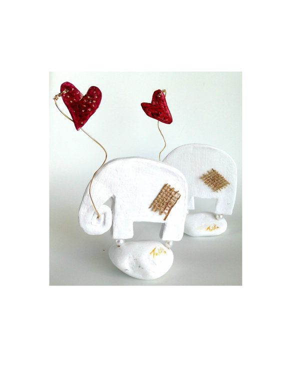 Abstract art of elephant . Set of  Modern decorative by TALITTA