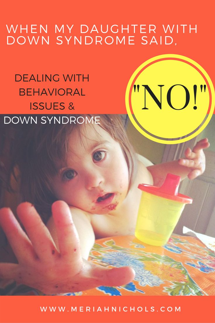 Behavioral Issues and Down syndrome have recently caused some issues with my child with Down syndrome at school. This is what we did