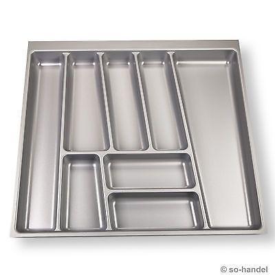 SO-TECH® Besteckeinsatz 505 x 462 mm für 60er Nobilia Schublade Besteckkasten