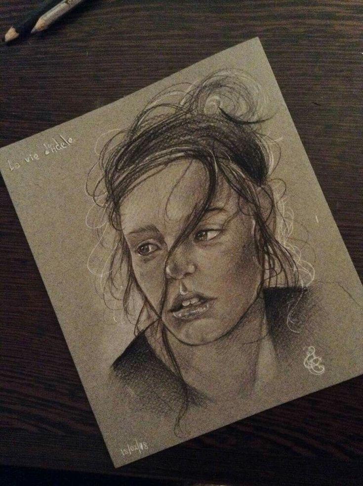 Study portrait 2018 - Adele