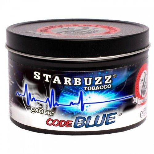 Starbuzz Bold Code Blue Tin Can 250g - You can find all your smoking accessories right here on Santa Monica #Starbuzz #Teagardins #SmokeShop
