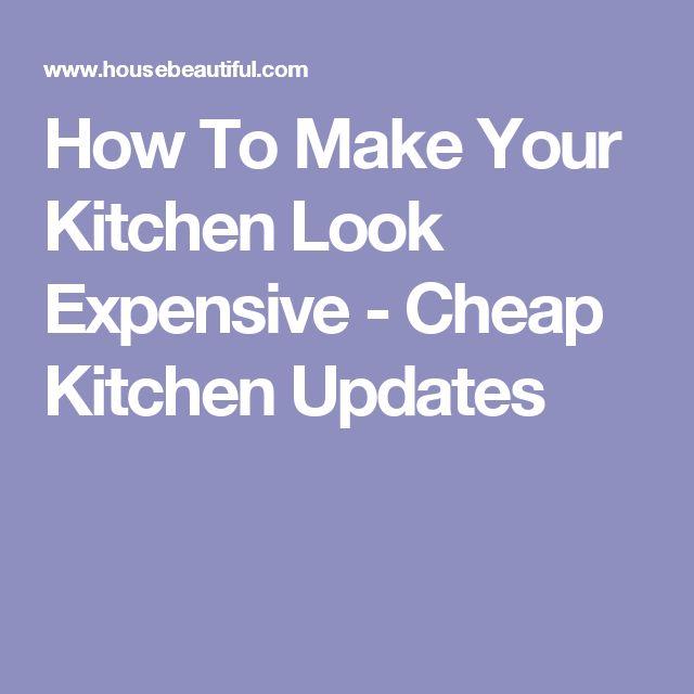 Best 25 Cheap Kitchen Updates Ideas On Pinterest Cheap
