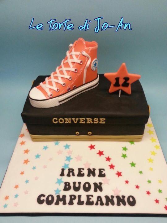 Converse cake                                                                                                                                                                                 More