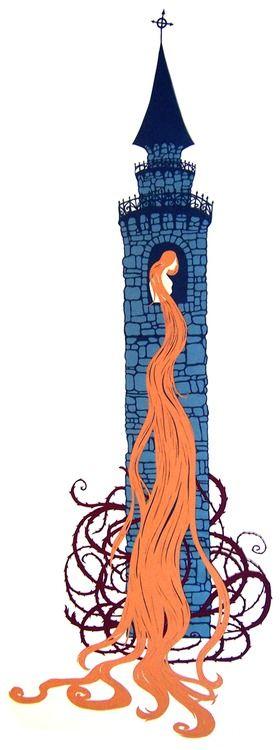 """Rapunzel's Tower"" by Muirgheilt"