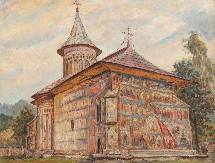 Mănăstirea Voroneţ (Judecata de Apoi)