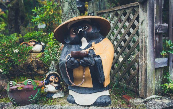 Cute statue in Japan
