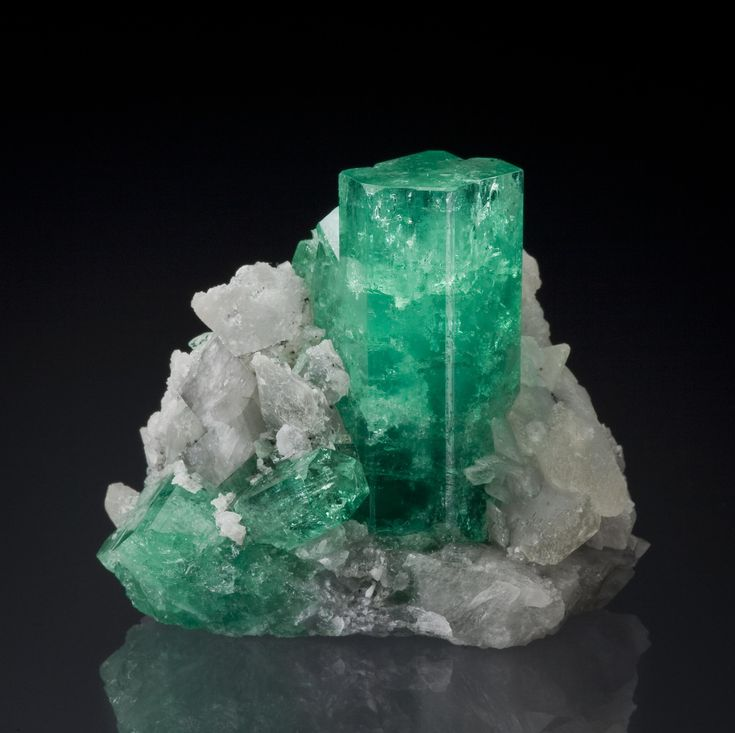Emerald - Cosquez Mine, Boyaca Dept., Colombia
