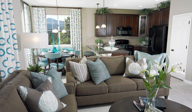 Ponderosa - Family Room | Ponderosa floor plan | Richmond American Homes | ,  |
