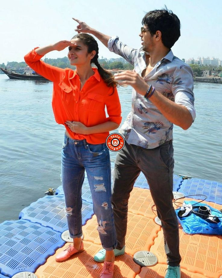 Siddharth Malhotra and Alia Bhatt pose on the jetty before boarding. @BOLLYWOODREPORT    . . #instabollywood #bollywood #india #indian #desi #bollywoodactress #mumbai #bollywoodfashion #bollywoodstyle #bollywoodmovie #indianfashion #indianstyle #aliabhatt #sidharthmalhotra #kapoorandsons #IBKAPOORANDSONS #bollywoodreport . For more follow #BollywoodScope and visit http://bit.ly/1pb34Kz