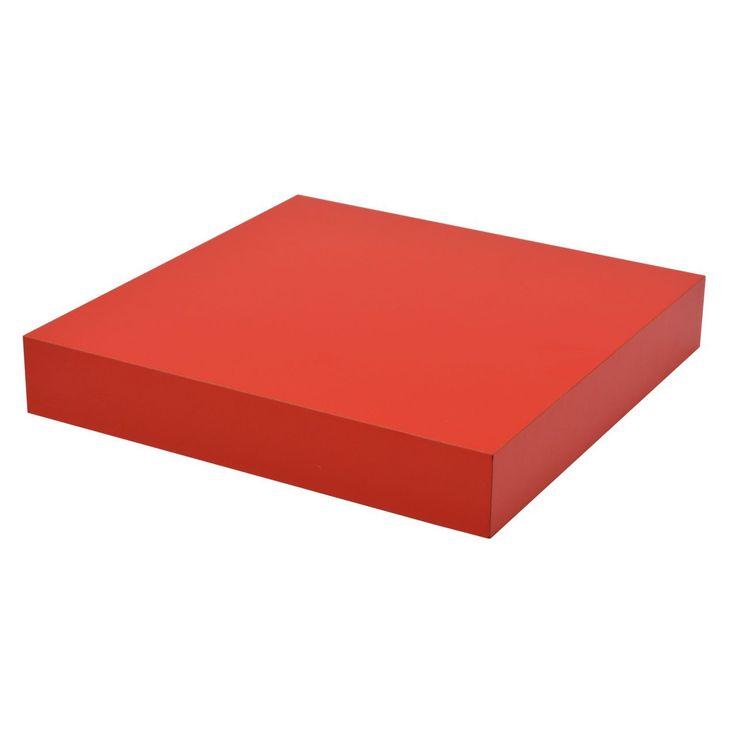 Die besten 25+ Wandregal rot Ideen auf Pinterest B organised - wohnzimmer orange rot