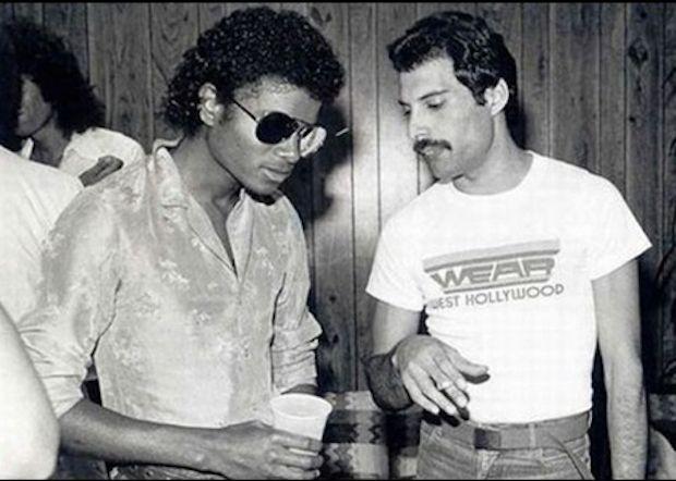 Michael Jackson y Freddy Mercury: | Las 45 fotos más legendarias