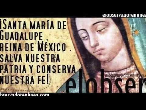 CANCIONES A LA VIRGEN DE GUADALUPE - YouTube