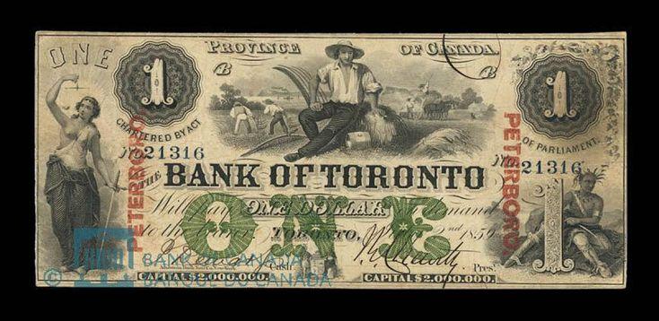 Vintage Canadian Dollar
