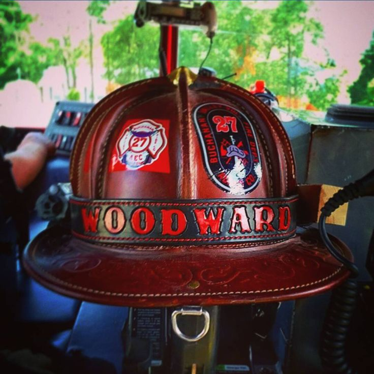 Our buddy @nwoodward620 sent us this awsome picture of his leather lid with our custom helmet band. Leather on leather. ・・・ If you have pictures of your BaySick Leather gear in service please tag us we would love to see it. www.baysickleather.com #Baysickleather #firefighter #fireengine #radiostrap #calfire #leatherheadmafia #firerescue #firstdue #kcco #smokeshowing #chiveon #firestation #firelife #prescribedfire #firefighterleather #firetraining #firewoman #bomberos #turnoutgear #firecam…