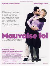 """""""Mauvaise foi"""" de Roschdy Zem avec Roschdy  Zem, Cécile de France, Pascal Elbé. 2006"""