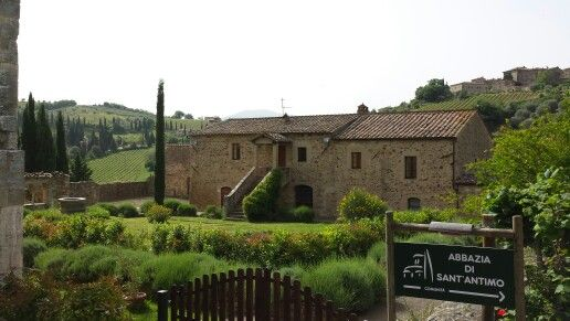Sant Antimo abbey, Toscana
