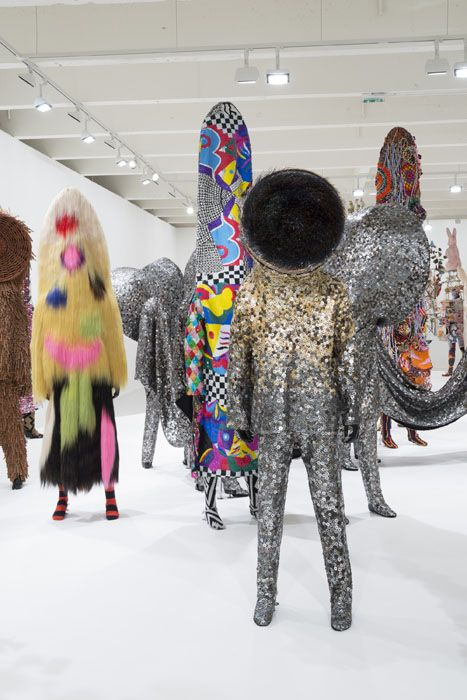 American fabric sculptor, dancer, and performance artist Nick Cave is best known for his incredible Sound suits.