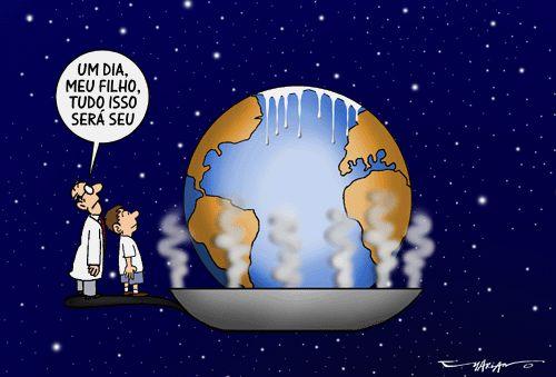 Mudanças climáticas: hora de (re)agir, artigo de Heitor Scalambrini Costa.