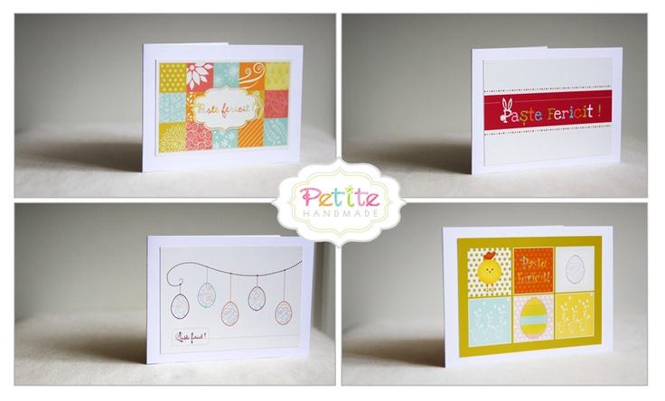 Felicitari Paste / Paste fericit / Easter Greetings http://petitehandmade.wordpress.com/