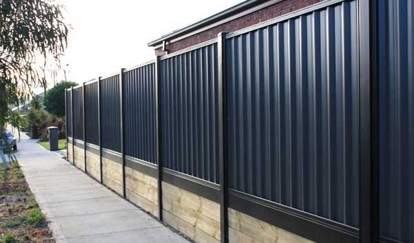 Cost Of Colorbond Fencing Per Square Metre Metal Fencing Costs Backyard Fence Decor Backyard Retaining Walls Fence Installation Cost
