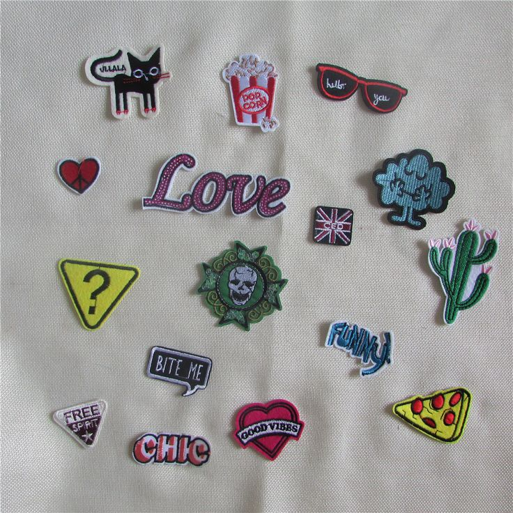 hot sell 16 kind high quality cartoon patch hot melt adhesive applique embroidery patch DIY clothing accessory C723-C740 #>=#>=#>=#>=#> Click on the pin to check out discount price, color, size, shipping, etc. Save and like it!
