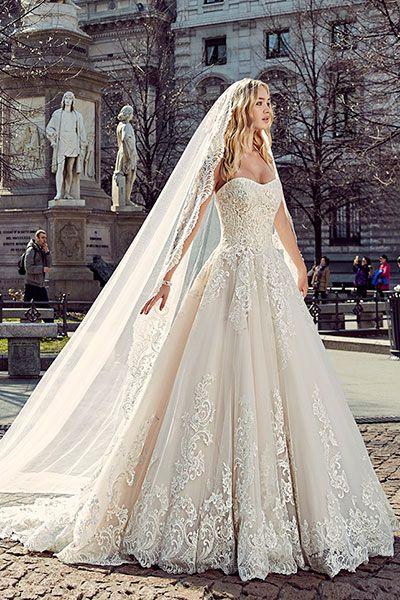 Wedding gown by Eddy K (Style MD197).